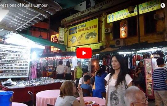 Kuala Lumpur - a video vignette