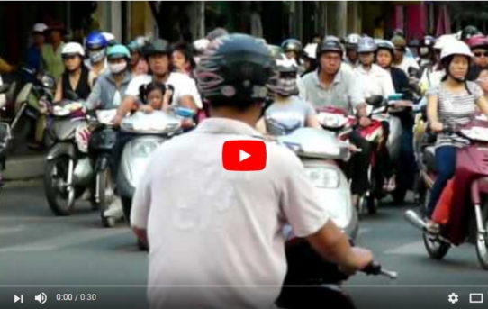 Saigon Traffic - yes I know I am obsessed