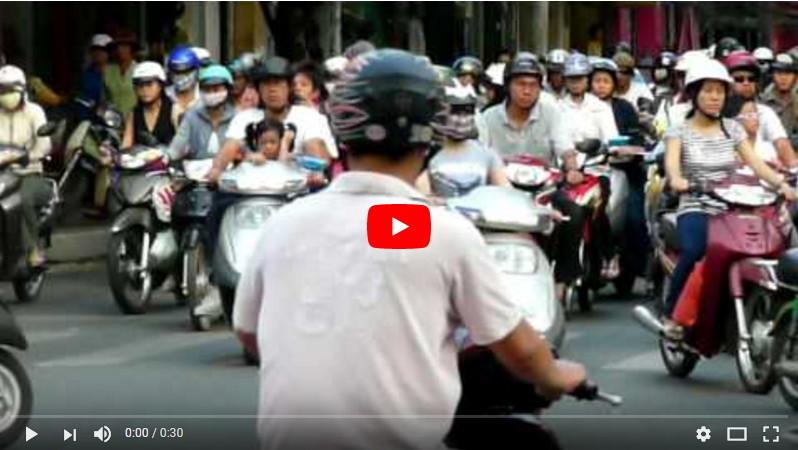 Traffic in Saigon - Ho Chi Minh City