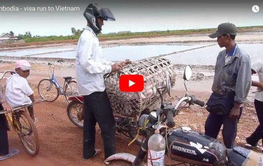 Cambodia visa run - day trip to Vietnam