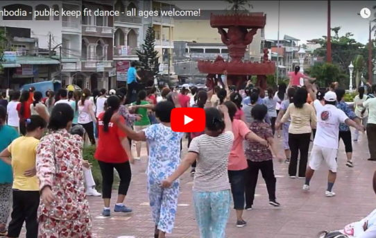 Cambodia - keep fit dance for all