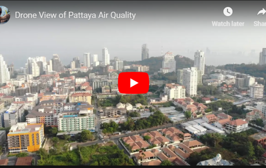 Drone View of Pattaya Air Quality